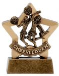 Cheerleader Mini Star Trophy